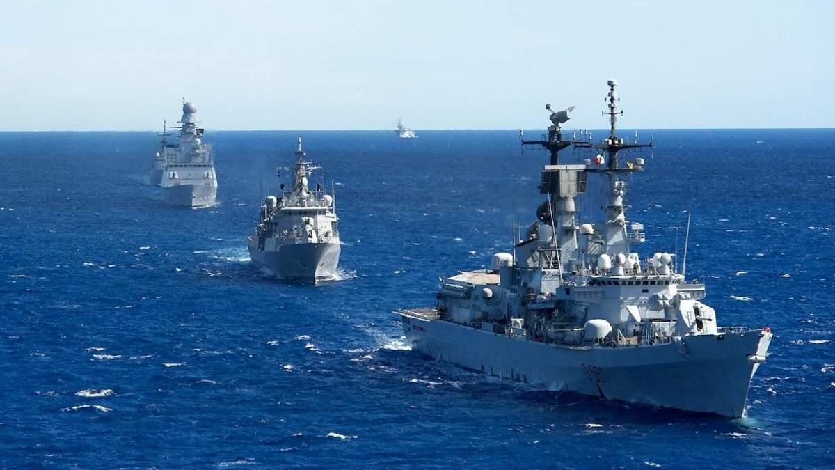 Кораблі НАТО в Чорному морі