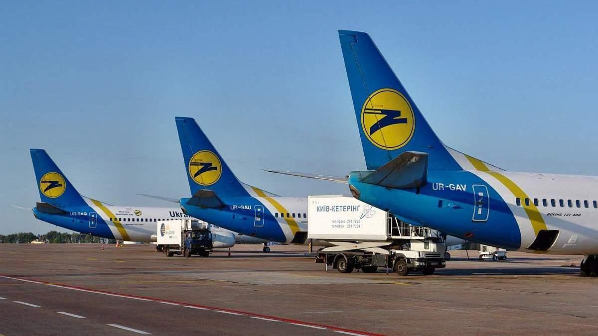 МАУ опубликовала список рейсов в августе: куда будет летать авиакомпания