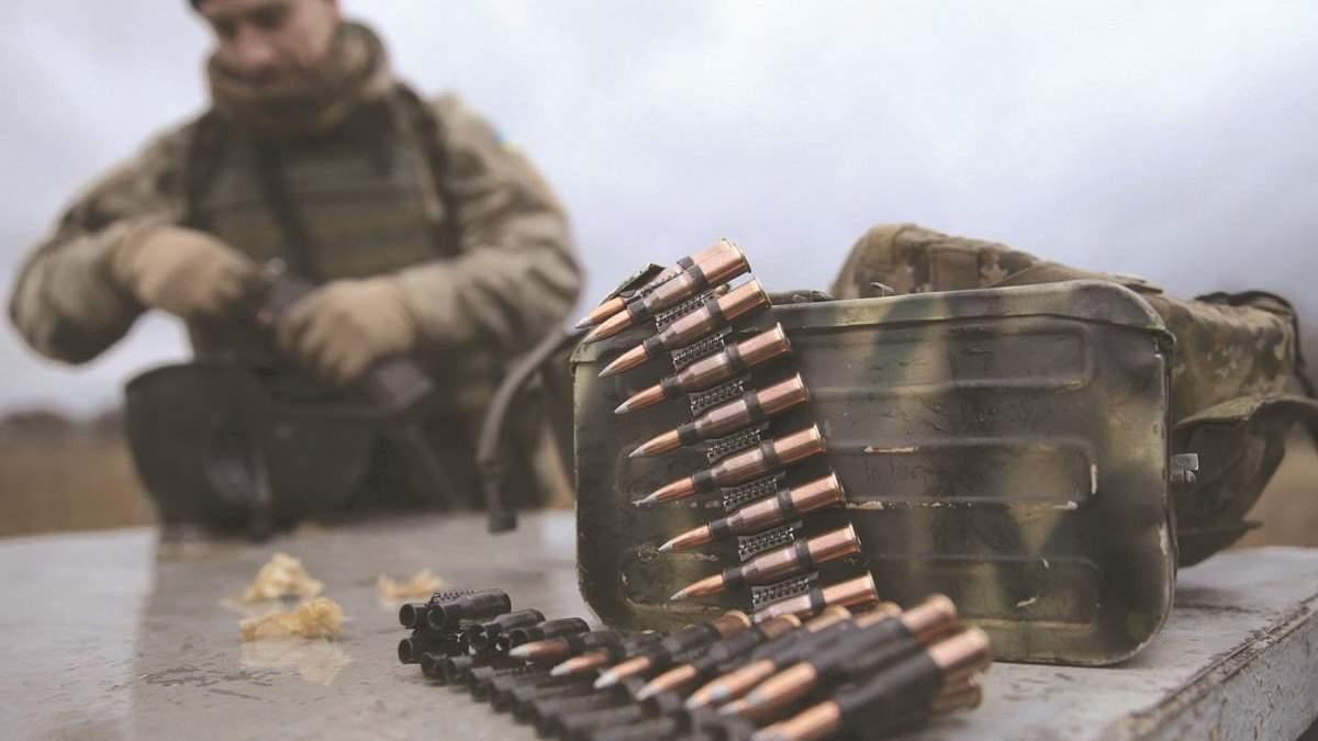 Патронов украинской армии хватает, – Наев