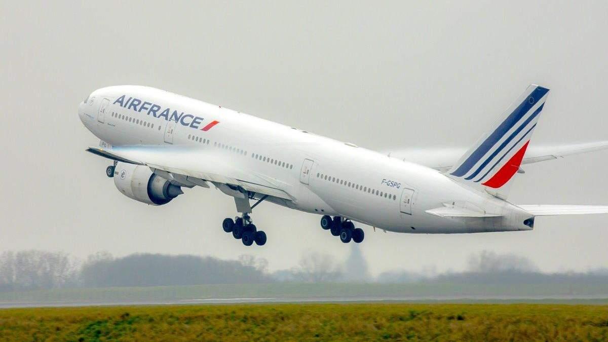 Air France снова будет летать в Украину