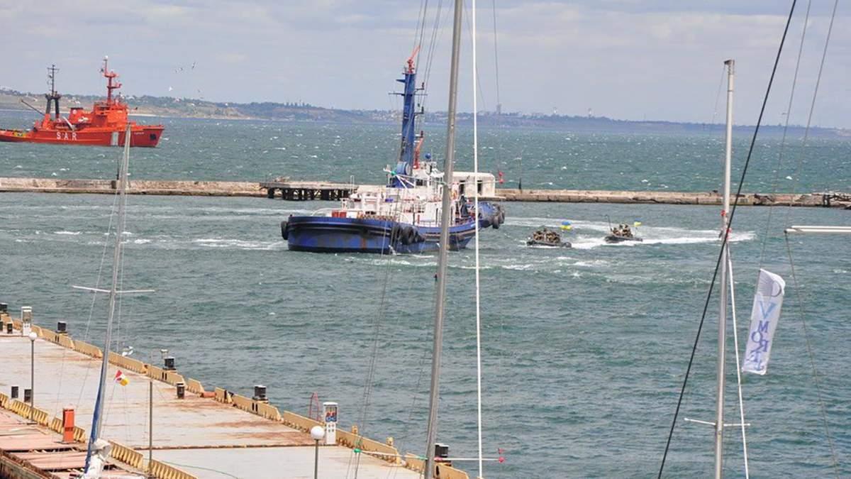СБУ провела антитерористичні навчання в Чорному морі: фото, відео
