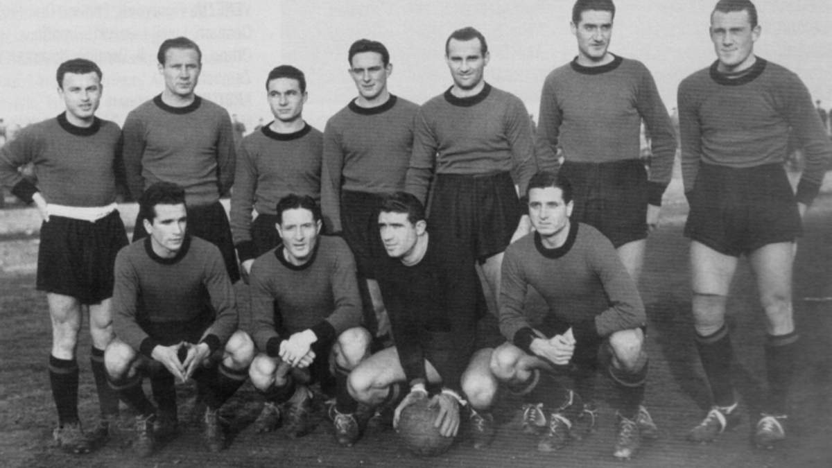 Итальянская команда Венеция. Сезон 1945/1946