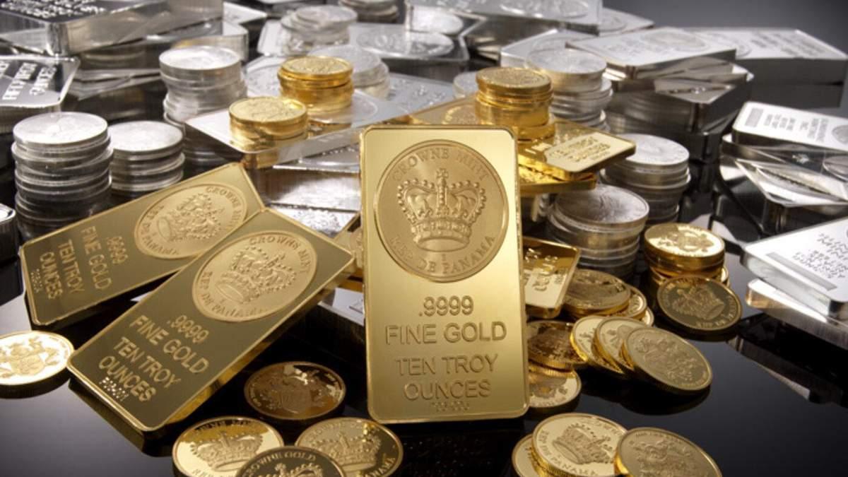 Цена золота 10 июля 2020 года – унция золота подорожала
