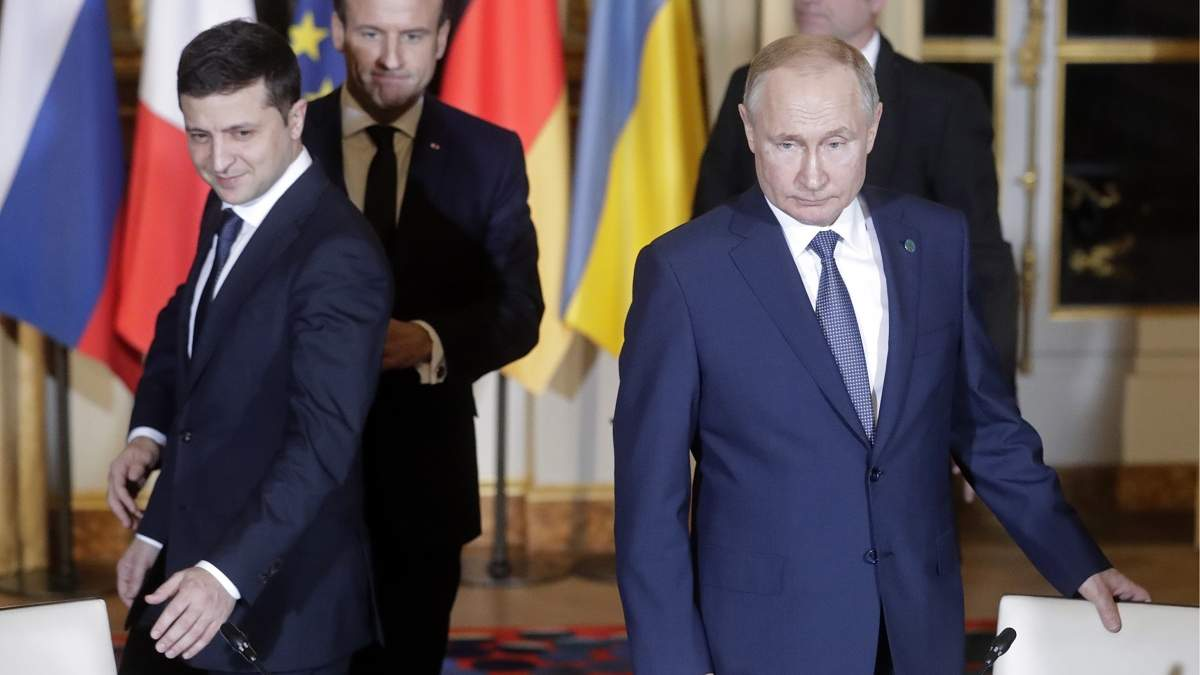 Зеленський заявив, що Росіїне треба ставити ультамутуми Україні
