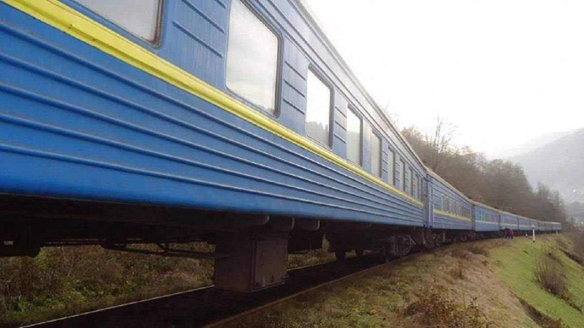 Двоє дівчат виламали віконну раму в потязі, але попалися поліції