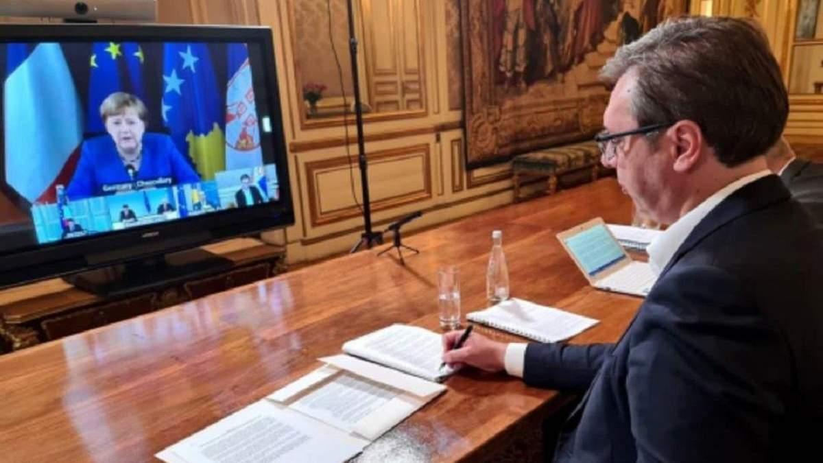 Сербія і Косово провели переговори щодо відновлення нормалізації відносин