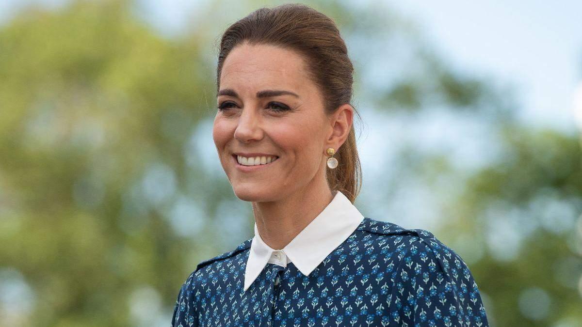 В платье-халате: Кейт Миддлтон показала красивый летний образ ...