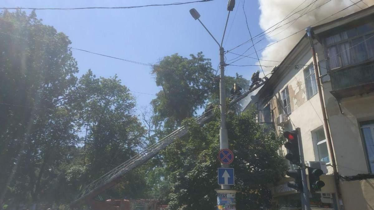 Пожар в жилом доме в Одессе 12 июня 2020: последние новости
