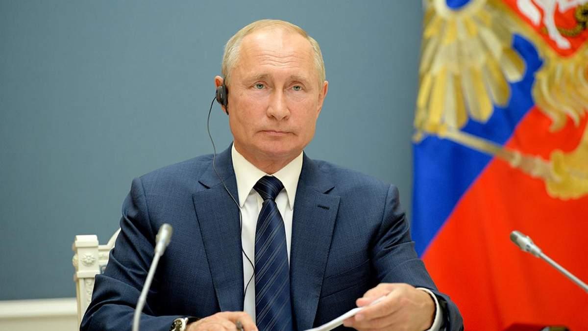 Песков о реакции Путина на высказывания Зеленского