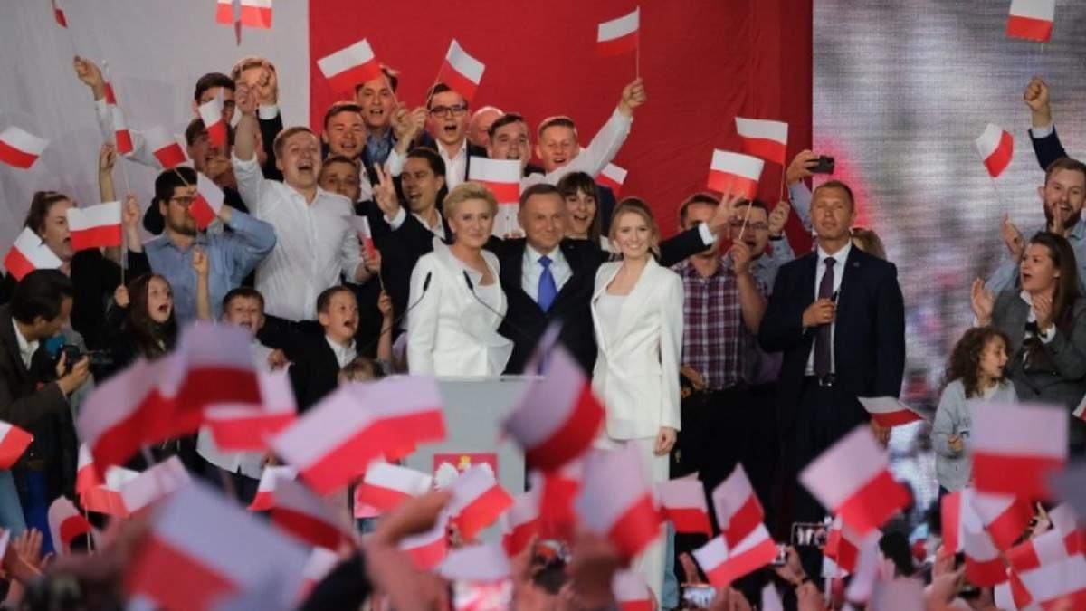 Анджей Дуда переміг на президентських виборах у Польщі