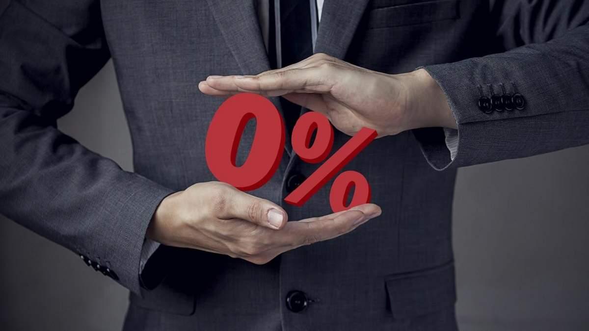 НБУ закликає українців бути обережними з кредитами під 0%