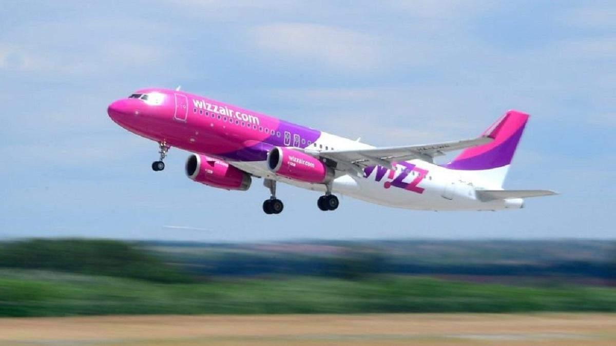 Wizz Air будет выполнять прямые рейсы из Одессы в Абу-Даби