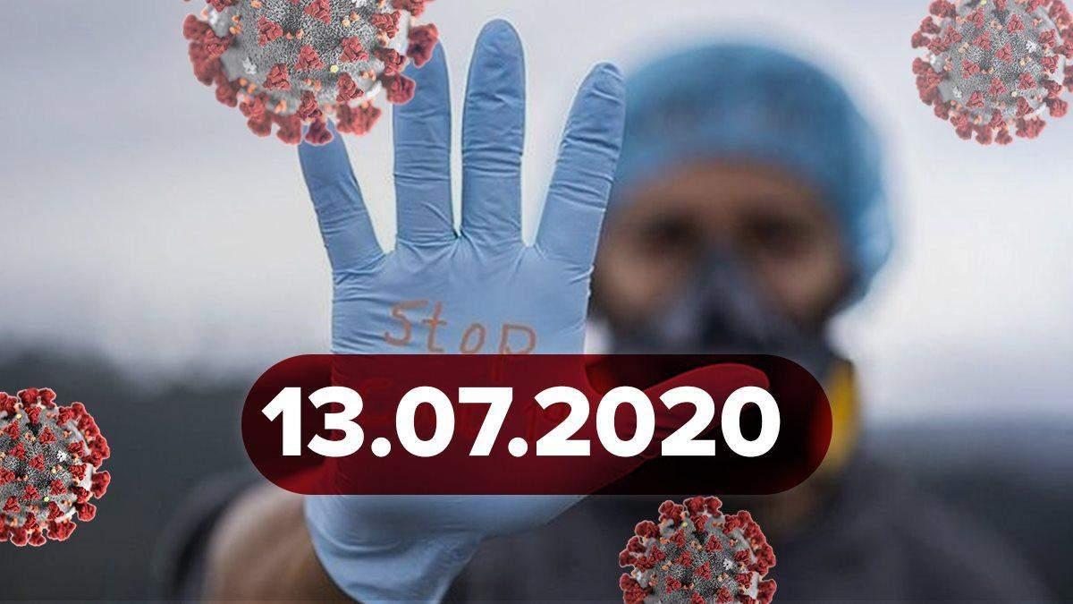 Коронавірус Україна, світ 13 липня 2020: статистика, новини
