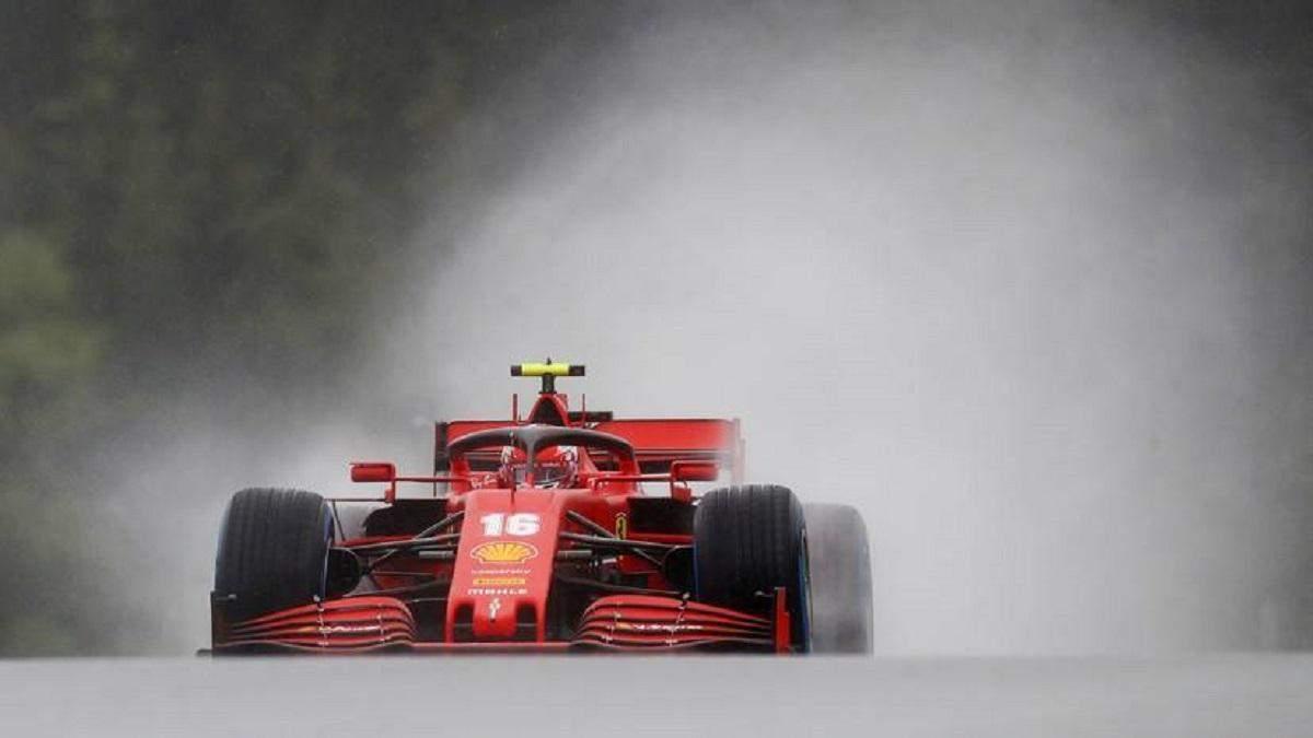 Зіткнення Феррарі на Формулі-1