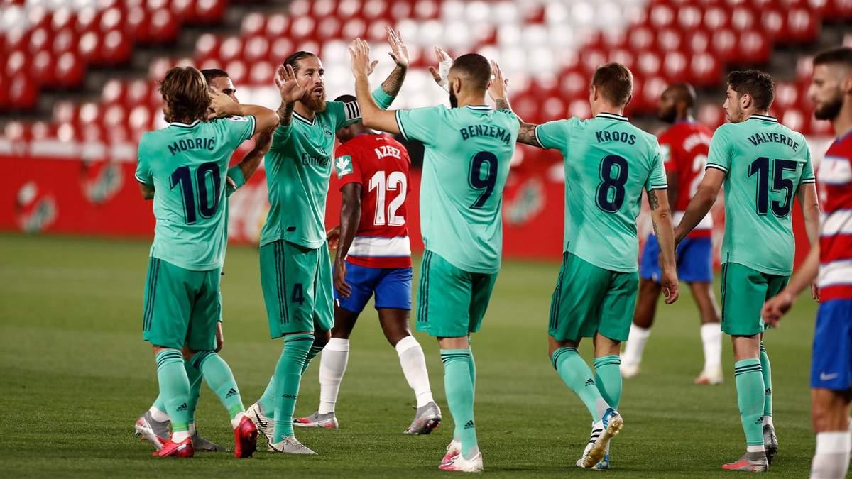 Гранада – Реал: обзор, счет, видео матча 13.07.2020 – Ла Лига
