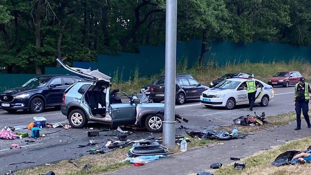 ДТП біля Козина на Київщині: водію Mercedes оголосили підозру – йому загрожує від 5 до 10 років в'язниці