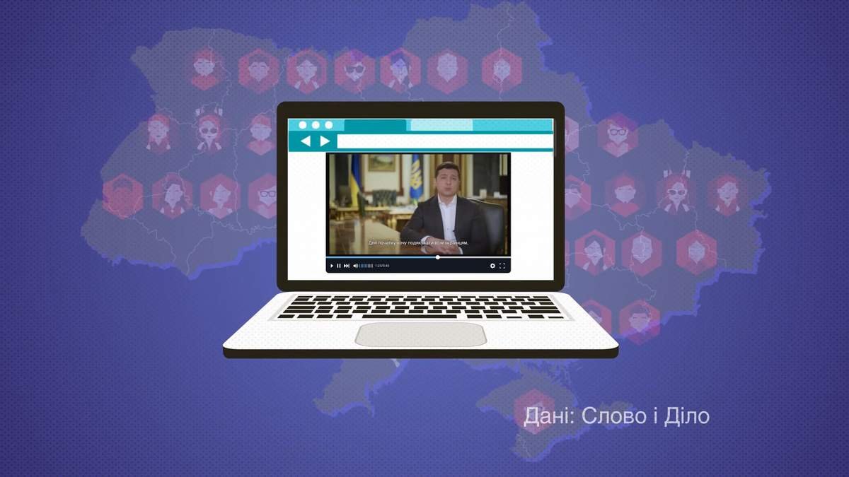 Зеленский за время президентства записал почти сотню видеообращений: какая тема лидирует