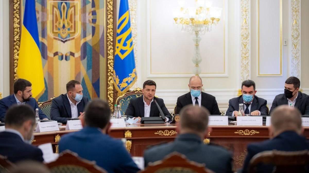 Зеленський поговорив з урядом про програму Великого будівництва