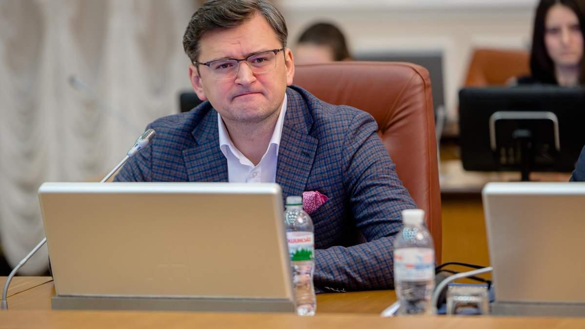 Глава МЗС Кулеба відреагував на заяви Саакашвілі про Грузію
