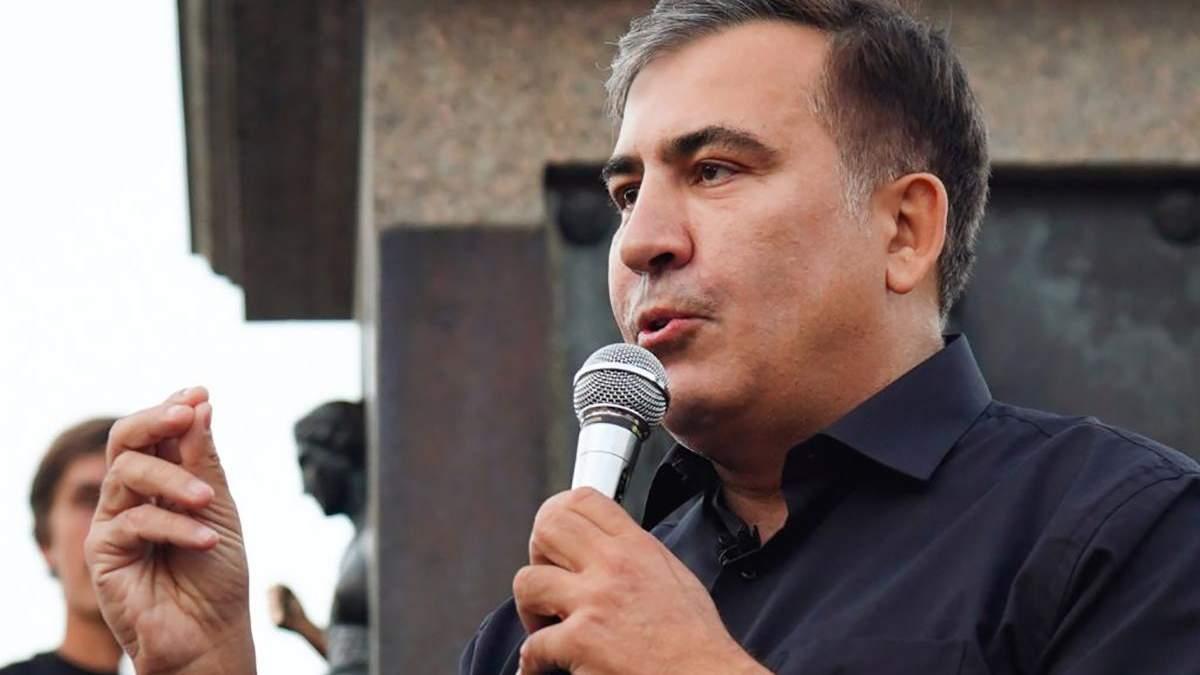 Саакашвили говорит, что ICTV покупает Медведчук: телеканал требует извинений