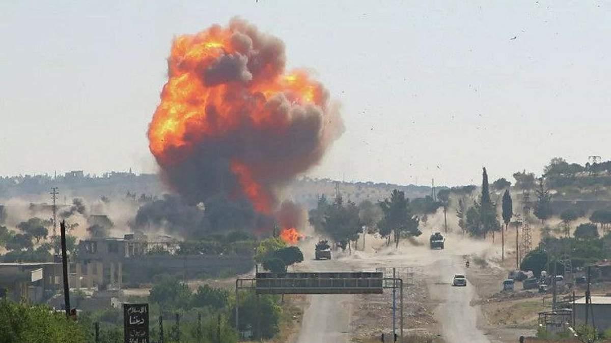 У Сирії підірвали російський військовий патруль