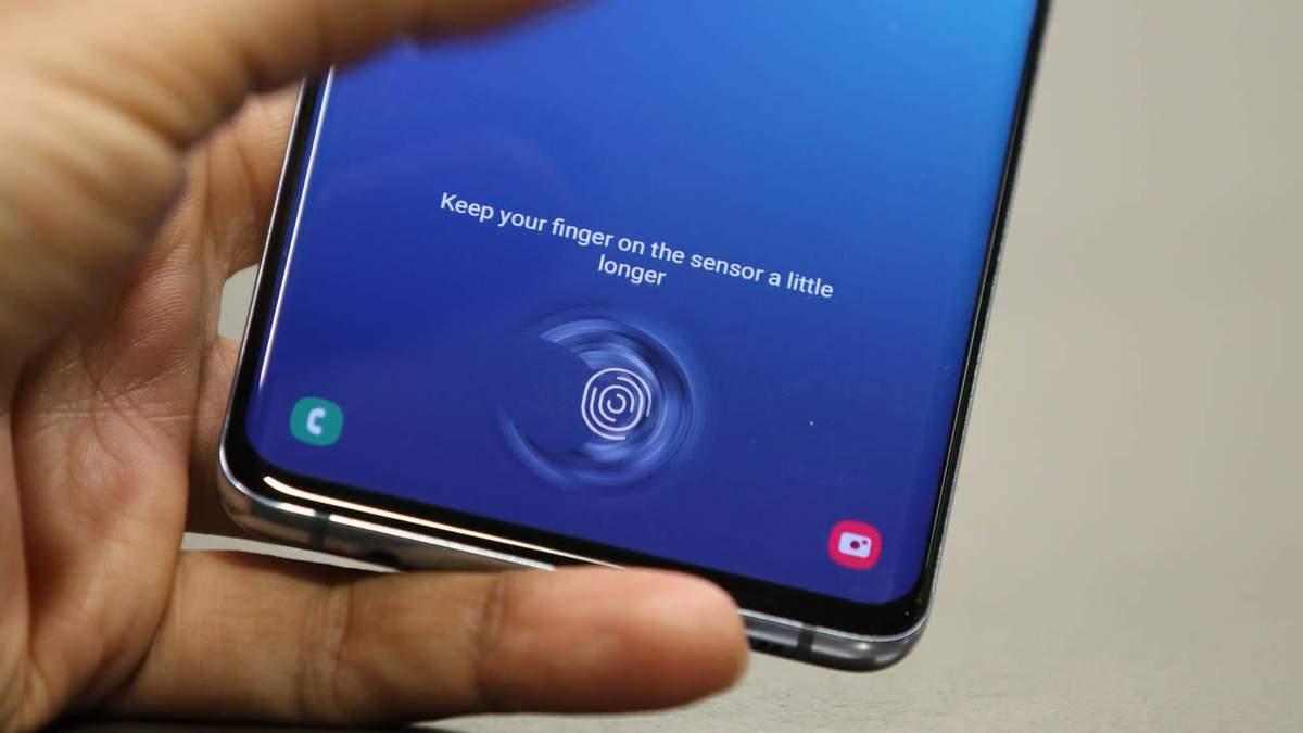 Samsung запатентувала новий спосіб розблокування смартфона