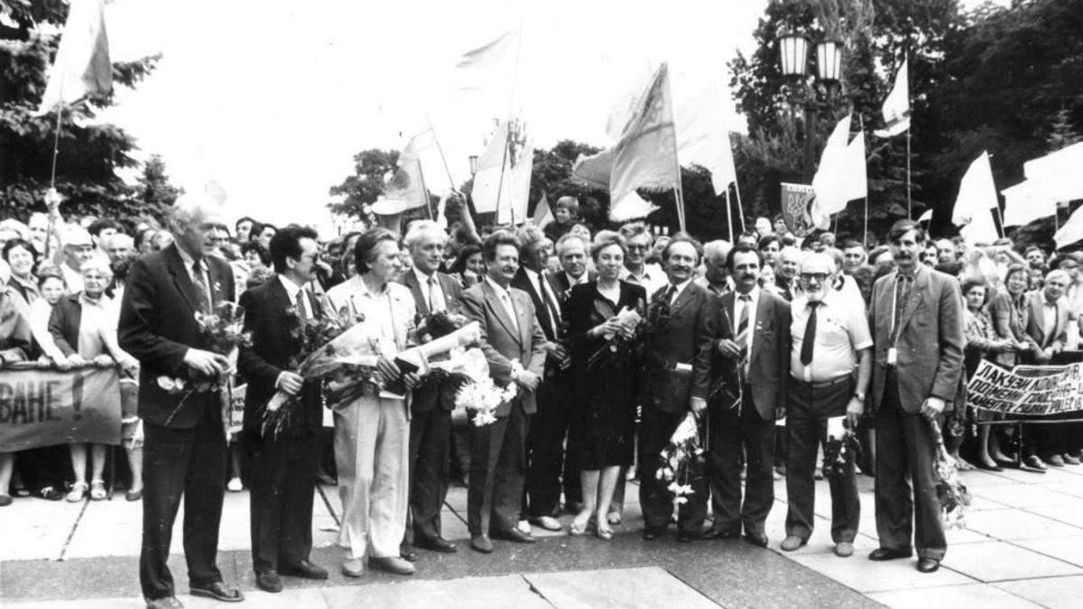 30 лет Декларации о государственном суверенитете: архивные фото и видео