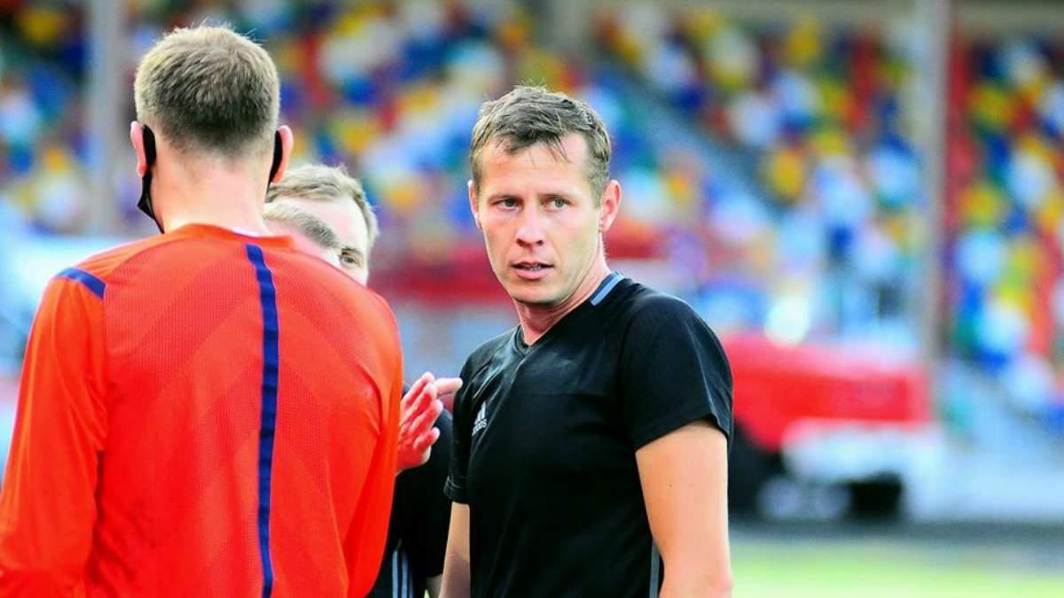 Судью матча Агробизнес – Минай Юрия Иванова избили – причины