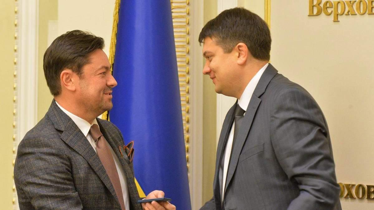 Звільнення голови апарату ВРУ В'ячеслава Штучного - Рада підтримала