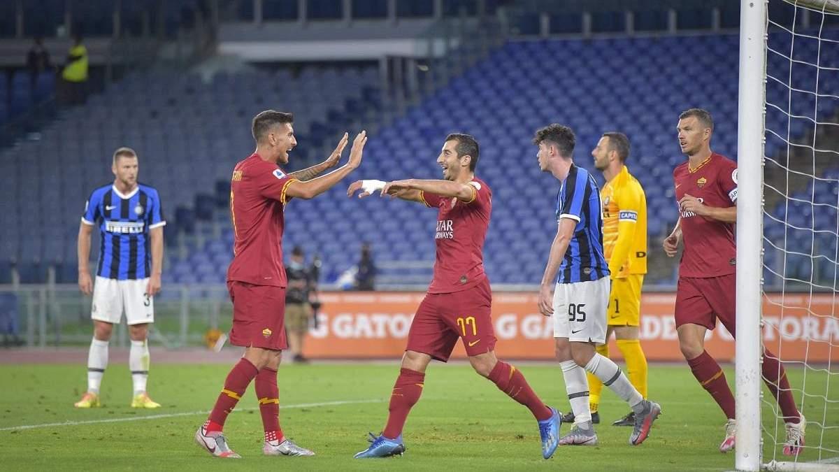 Рома – Інтер: огляд, рахунок, відео матчу 19.07.2020