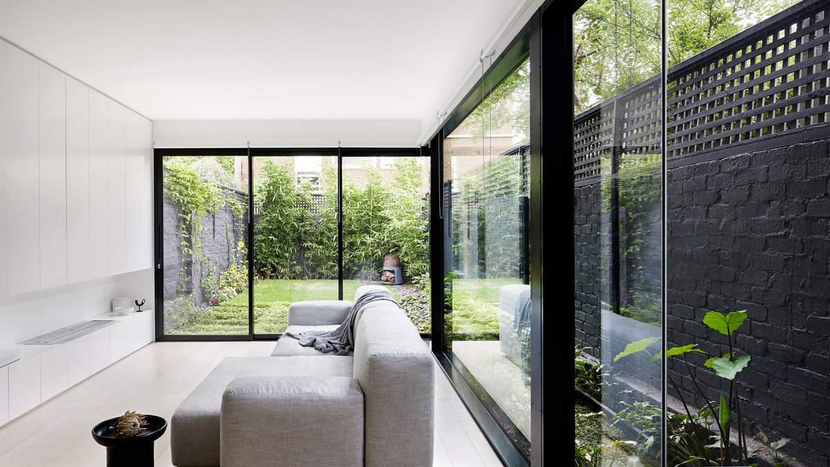 Интерьер и экстерьер дома гармонично сочетаются