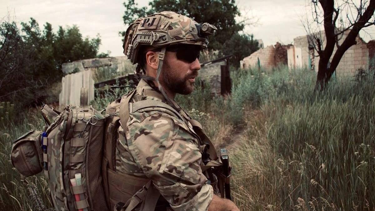 Військовий медик Микола Ілін з позивним Естонець