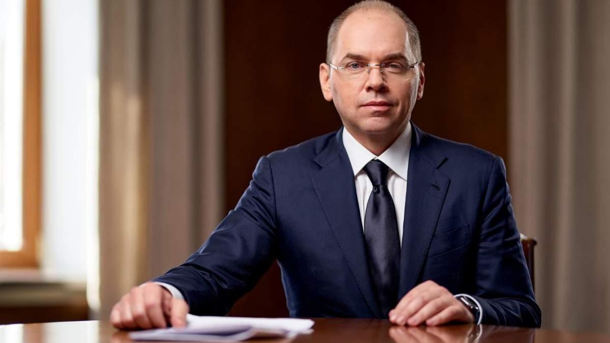 Министр здравоохранения Максим Степанова
