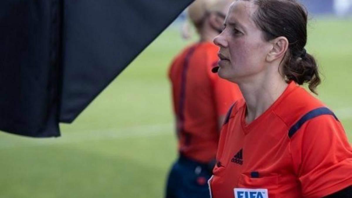 Катерина Монзуль відсудить матч в Першій лізі з VAR