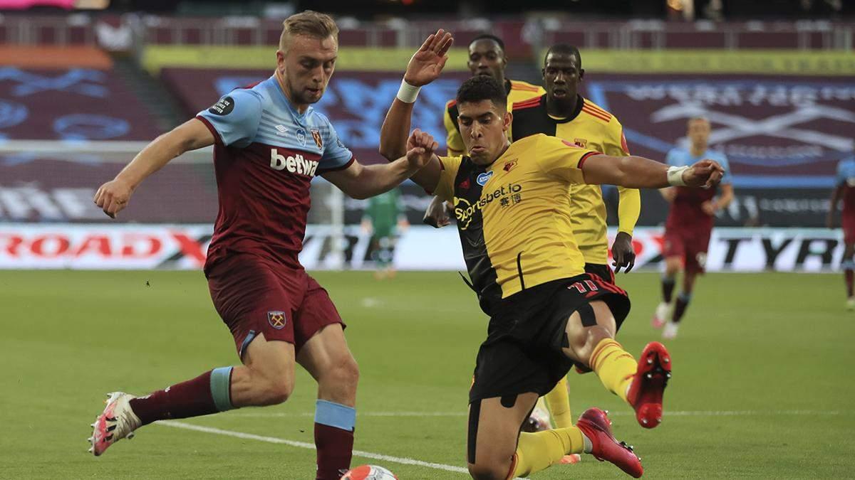 Вест Хем – Вотфорд: огляд, рахунок матчу 17.07.2020 – АПЛ