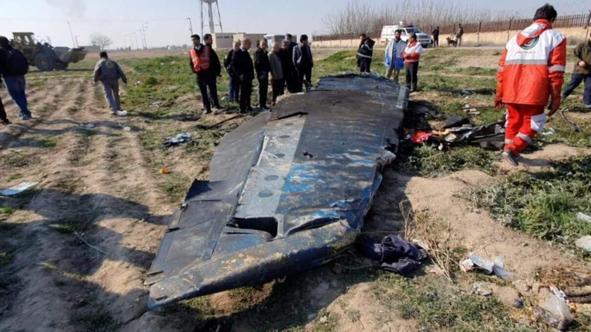 Авіакатастрофа літака МАУ в Ірані: чорні скриньки у Франції