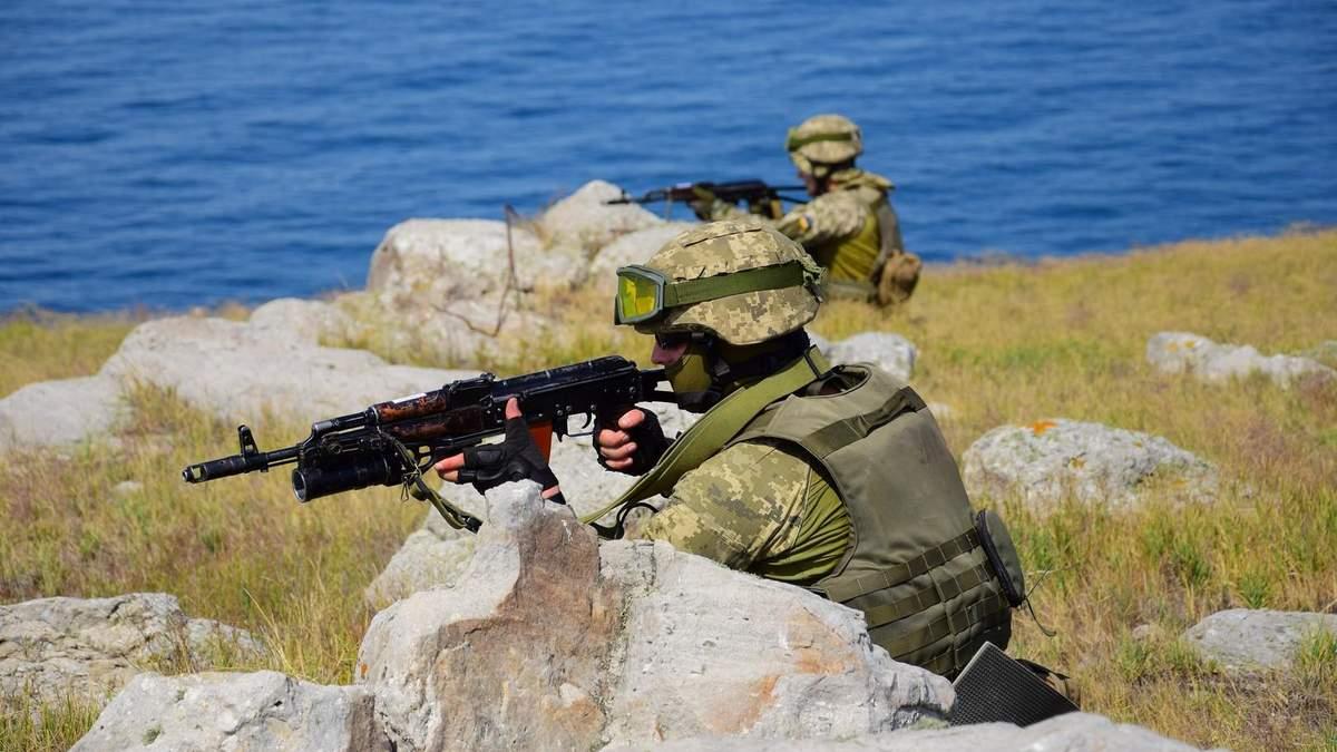 Пограничники и ВМС прошли спецобучение на случай агрессии России с моря