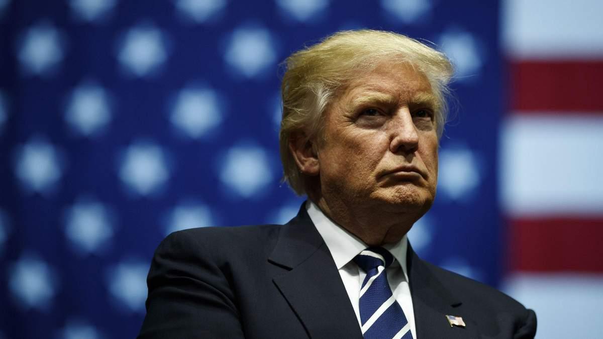Дональд Трамп о ношении защитных масок