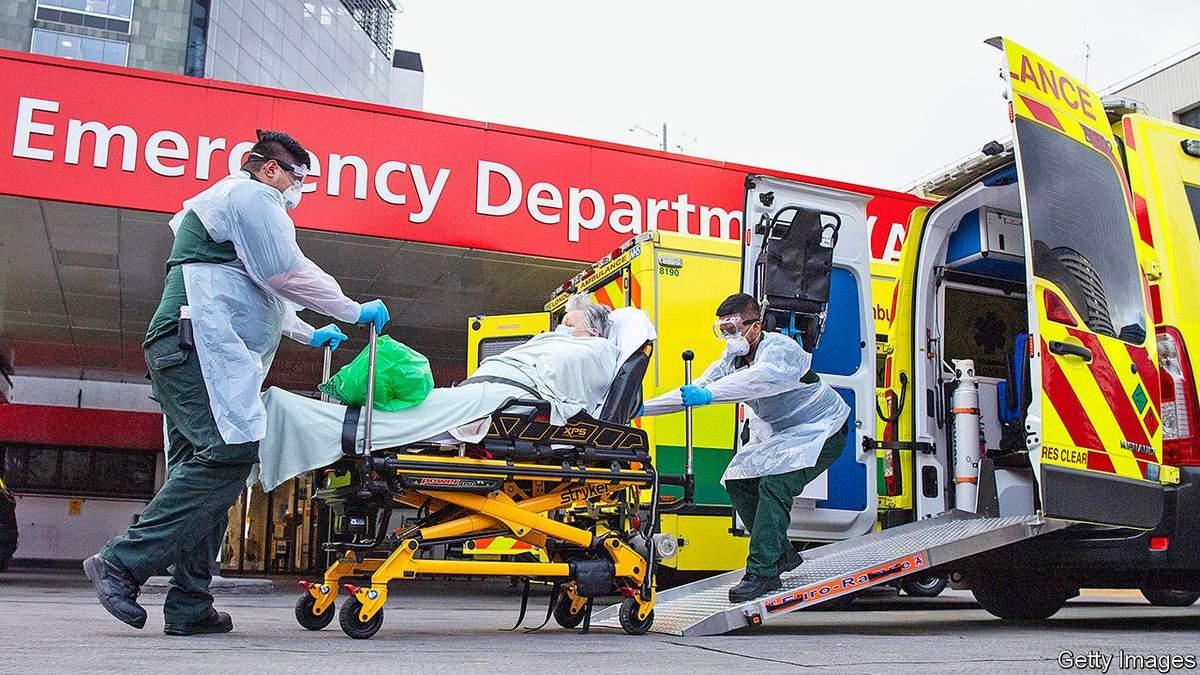 Британія призупиняє публікувати статистику смертності від COVID-19