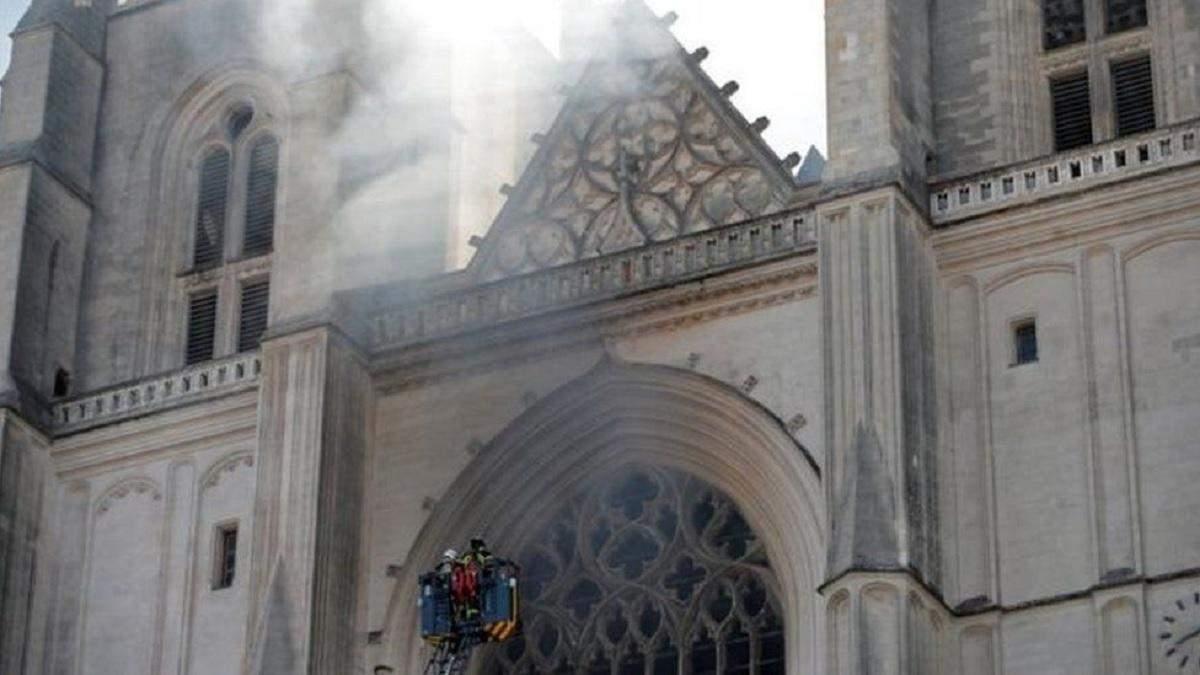 Пожежа в Нантському соборі: підозрюваного у підпалі відпустили