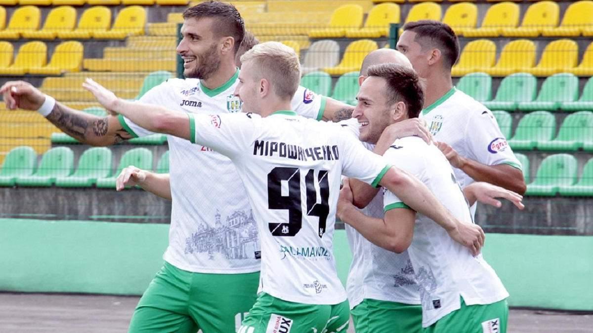 Сезон у Першій лізі 2020/21