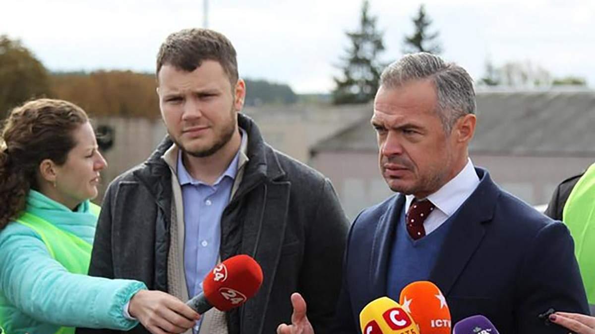 Владислав Криклий и Славомир Новак