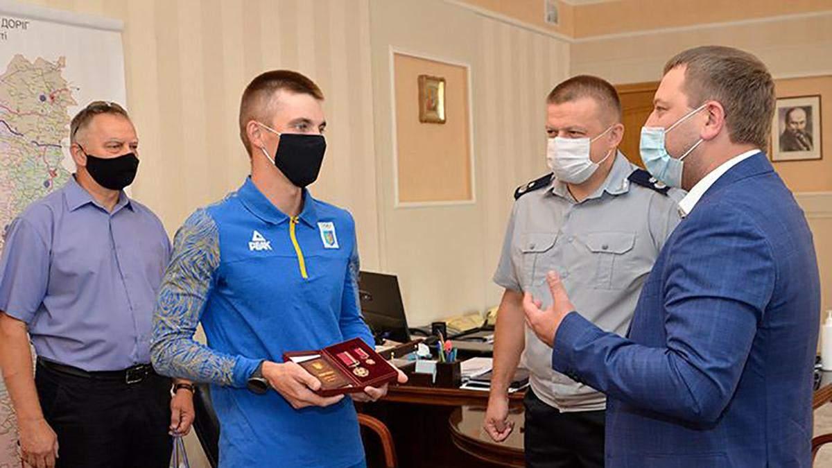 """Дмитрий Пидручный получил орден """"За заслуги"""" III степени"""