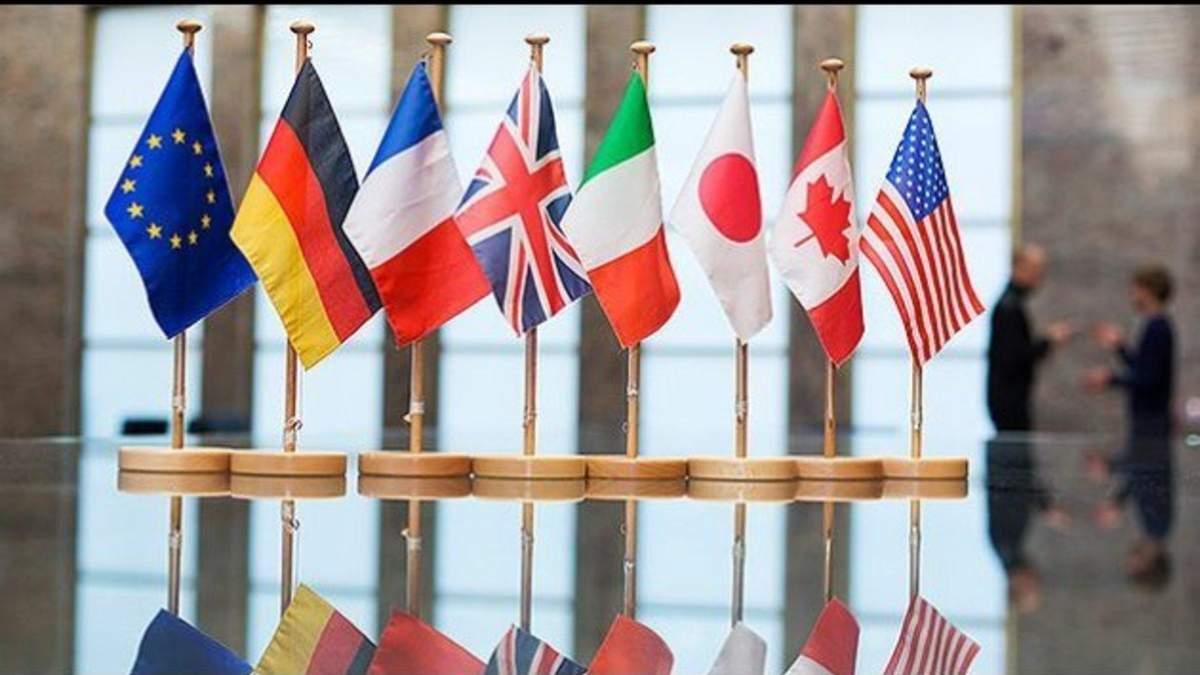 У США підготували резолюцію проти участі Росії в G7