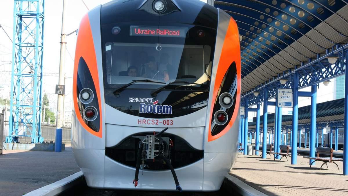 Поблизу Харкова зламався потяг Hyundai, що їхав із Києва: рейс затримали на дві години