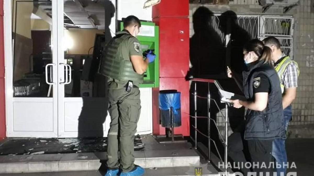 У Києві підірвали банкомат та вкрали гроші 21 липня 2020: фото