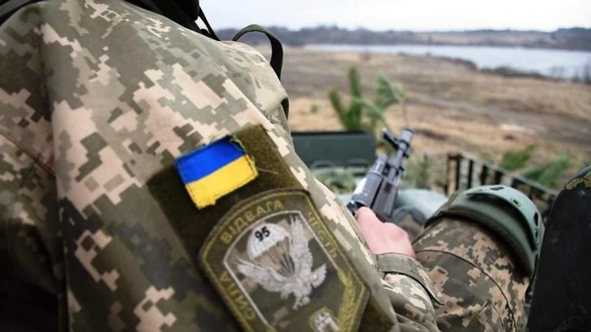 На Донбасі поранили двох українських воїнів
