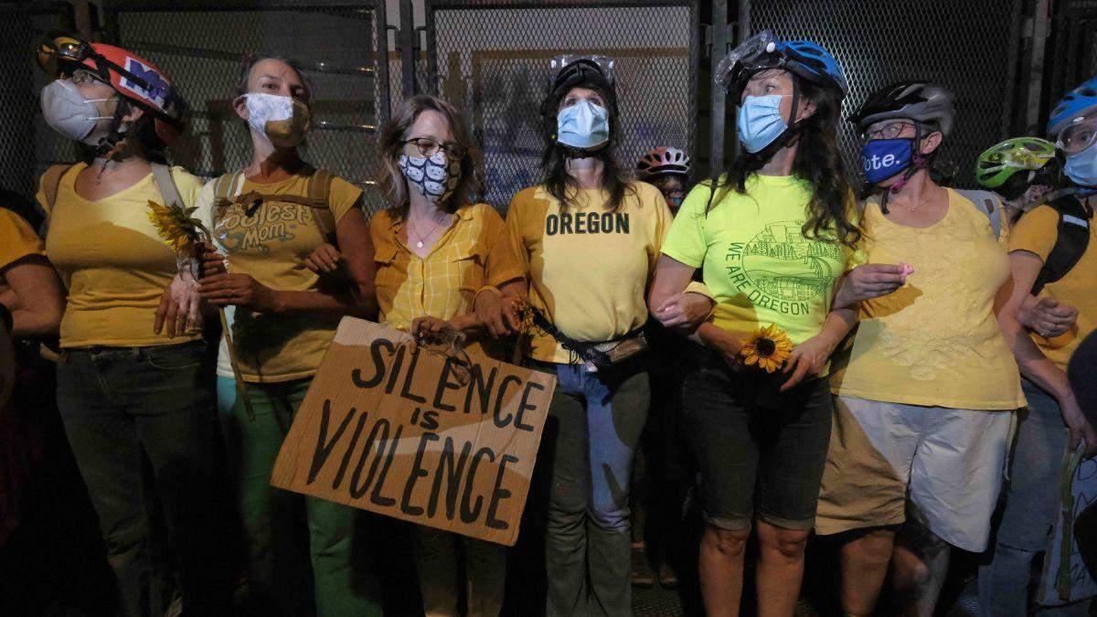 Жіночий протест у Портленді