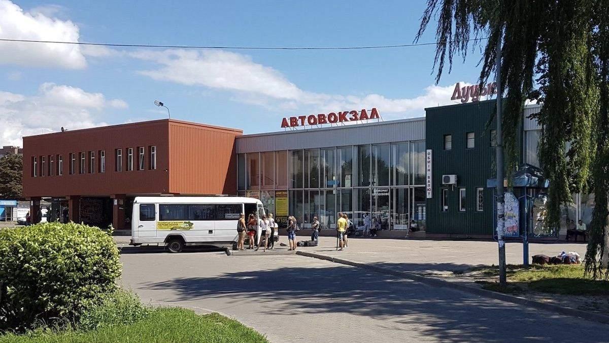 В Луцке эвакуируют главный автовокзал из-за подозрительного предмета: фото, видео