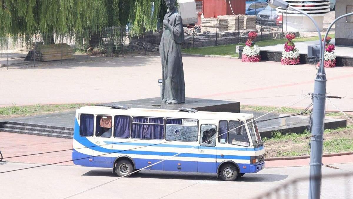 Захоплення людей в Луцьку
